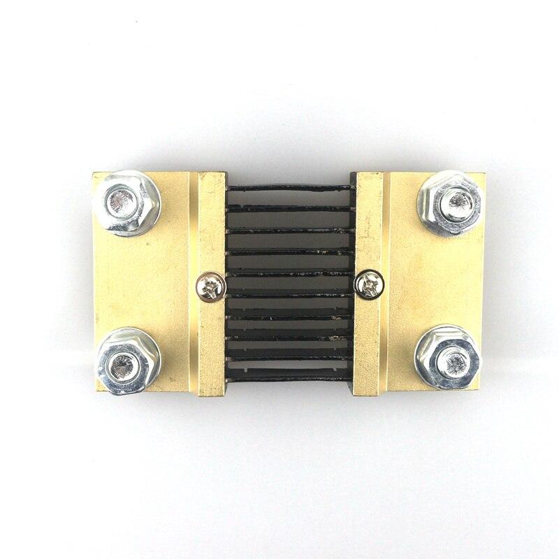 DC 1000A/75mV Current Divider Shunt Resistor 75MV 1000A DC Shunt for Amp Meter/AH Meter