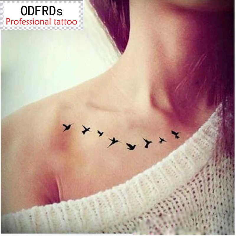 8 ต่างๆนกบินยี่ห้อใหม่แฟชั่นกันน้ำชั่วคราว tattoo สติกเกอร์สัก tattoo ผู้ชายและผู้หญิงแฟลช fake henna