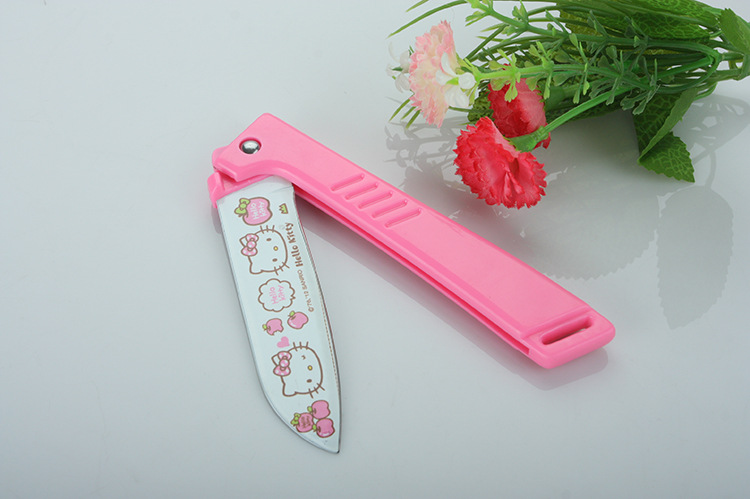 Compra cuchillo microtomo online al por mayor de china for Utensilios de cocina hello kitty