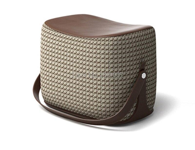 Peachy New Creative Modern Sofa Ottoman Stool Portable Handle Dailytribune Chair Design For Home Dailytribuneorg