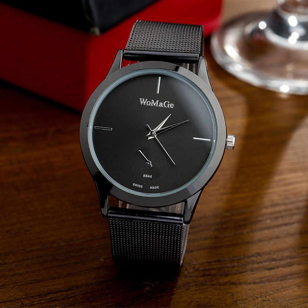 New Geneva Fashion Women Ladies Small Steel Band Analog Quartz Wrist Watch Watches Girl Clock Relogio Feminino