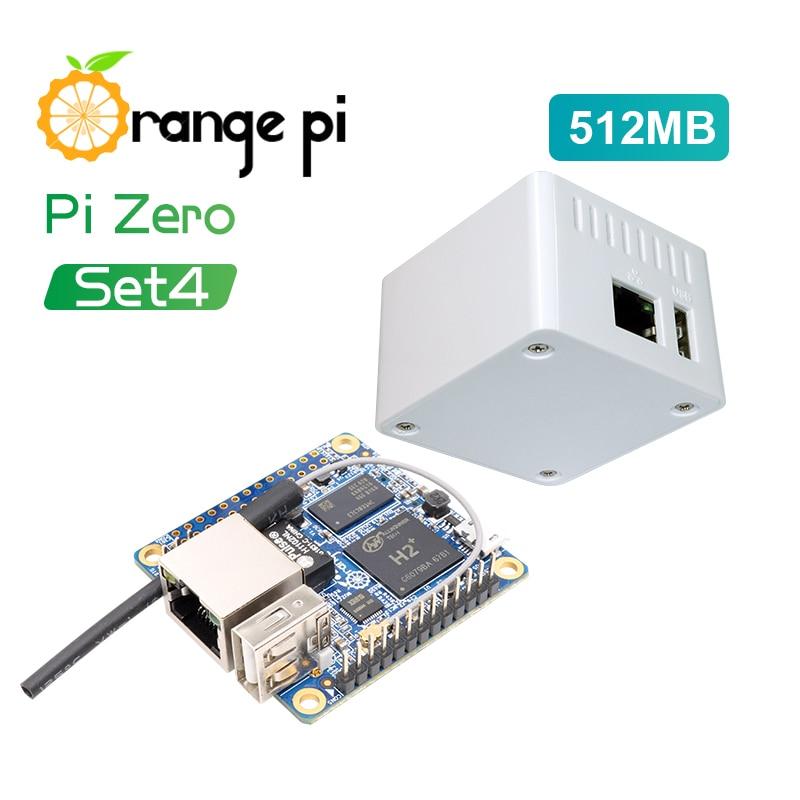 Orange Pi Zero Set4: Orange Pi Zero512MB + Caso H2 Quad Core-fuente De  Desarrollo Más Allá De Raspberry Pi (BEST DISCOUNT June 2019)