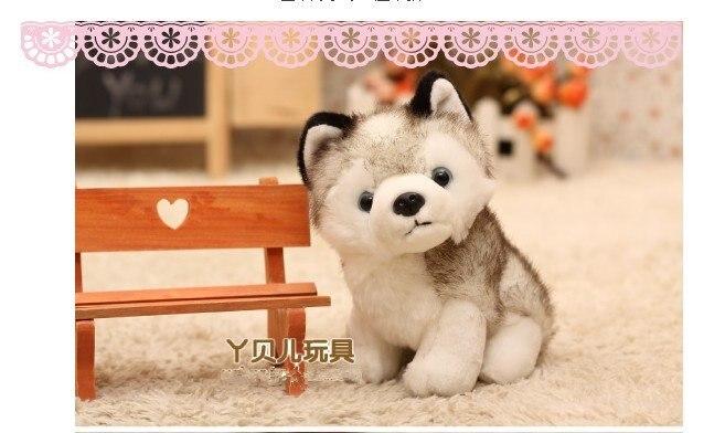 Free Shipping Creative Simulation 18cm Super Cute Little Puppy Dog