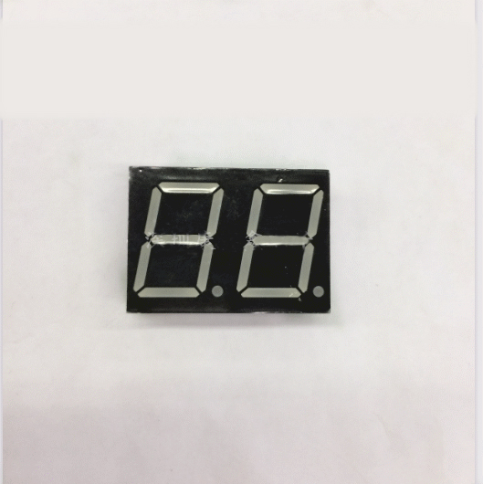 100pc Common Cathode/Common Anode 0.8 Inch Digital Tube 2 Bit Digital Tube 0.8 Inches Best Digital Tube Red 10pins