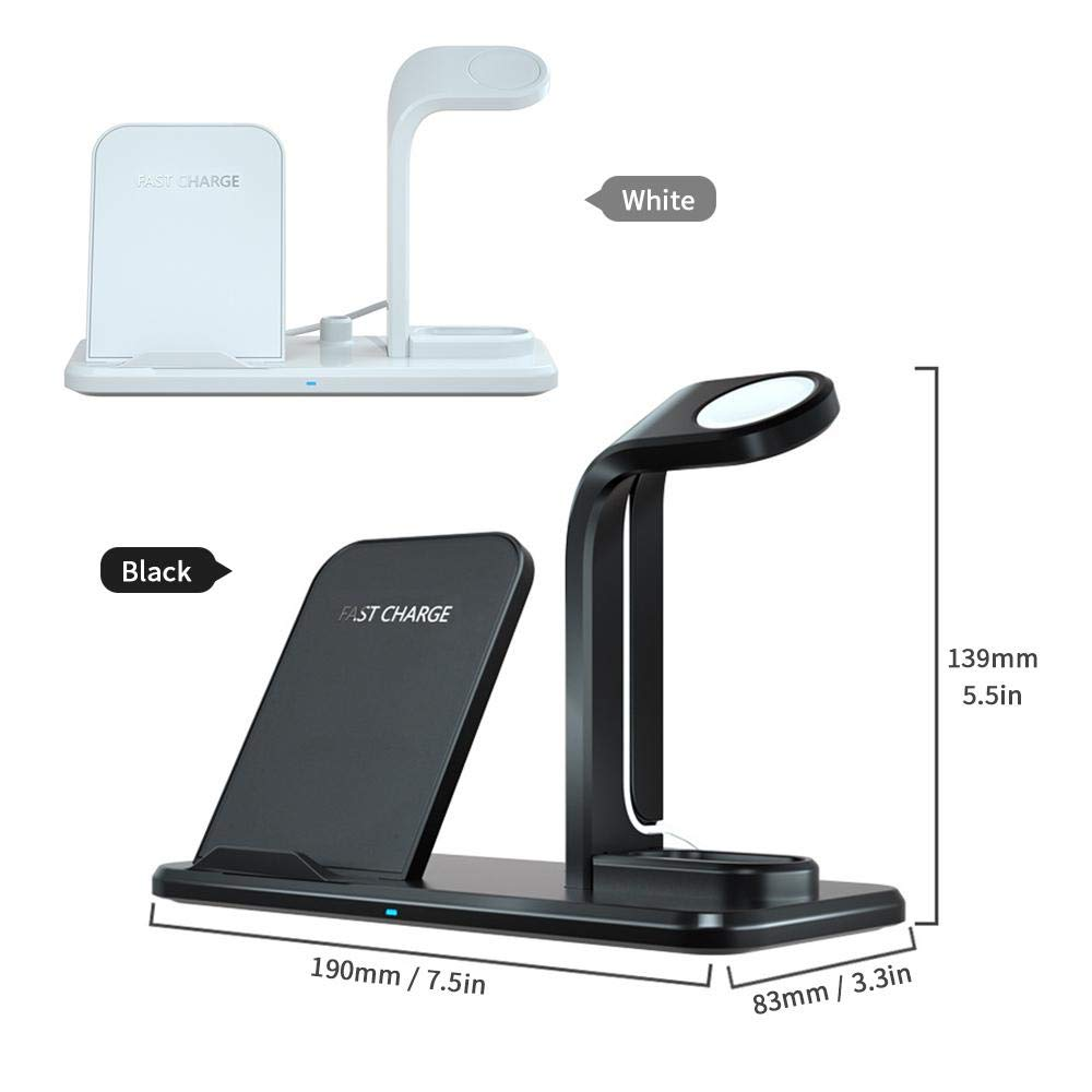 wireless cell phone charger white or black