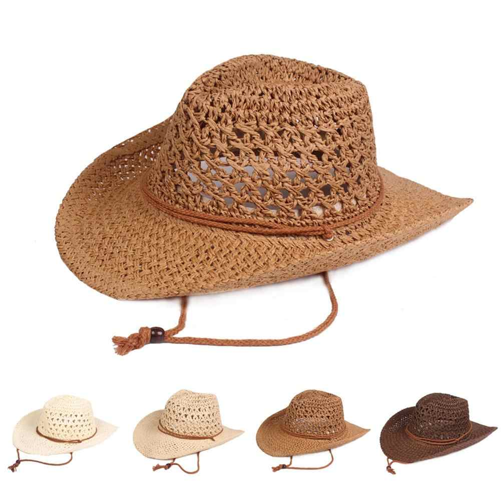 cf130658 Handmade Straw Hats Spring And Summer Straw Sun Hats Vintage Straw Hats  Beach Hats For Men