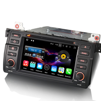 Car Radio Android 7.1 DAB+ GPS DVD DVR SAT NAV Radio RDS Bluetooth CAM IN AUX for BMW 3 Series E46 3er M3 318 320 325 Rover 75