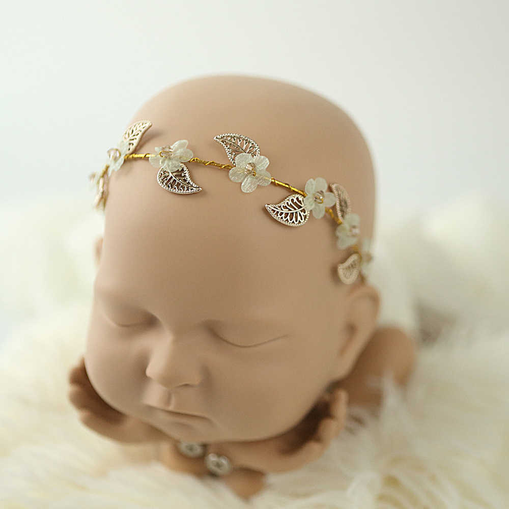Newborn photography props headband baby girl headbands unicorn hair accessories hair band hairbands horn tiara infantil