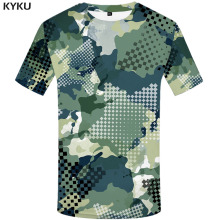 3d Tshirt Green Camo T-shirt Men Graffiti Tshirts Casual Camouflage Shirt Print Ink Tshirt Printed Military Anime Clothes men ink painting print tshirt