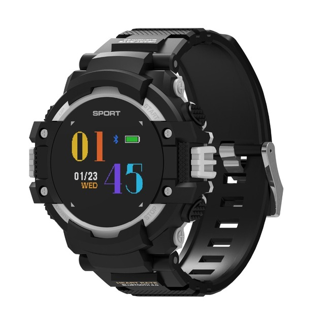 DTNO.1 NO.1 F7 GPS Smart Watch Man Color LCD Realtime Heart Rate Temperature Monitor Multisport Outdoor Sport Fashion Smartwatch