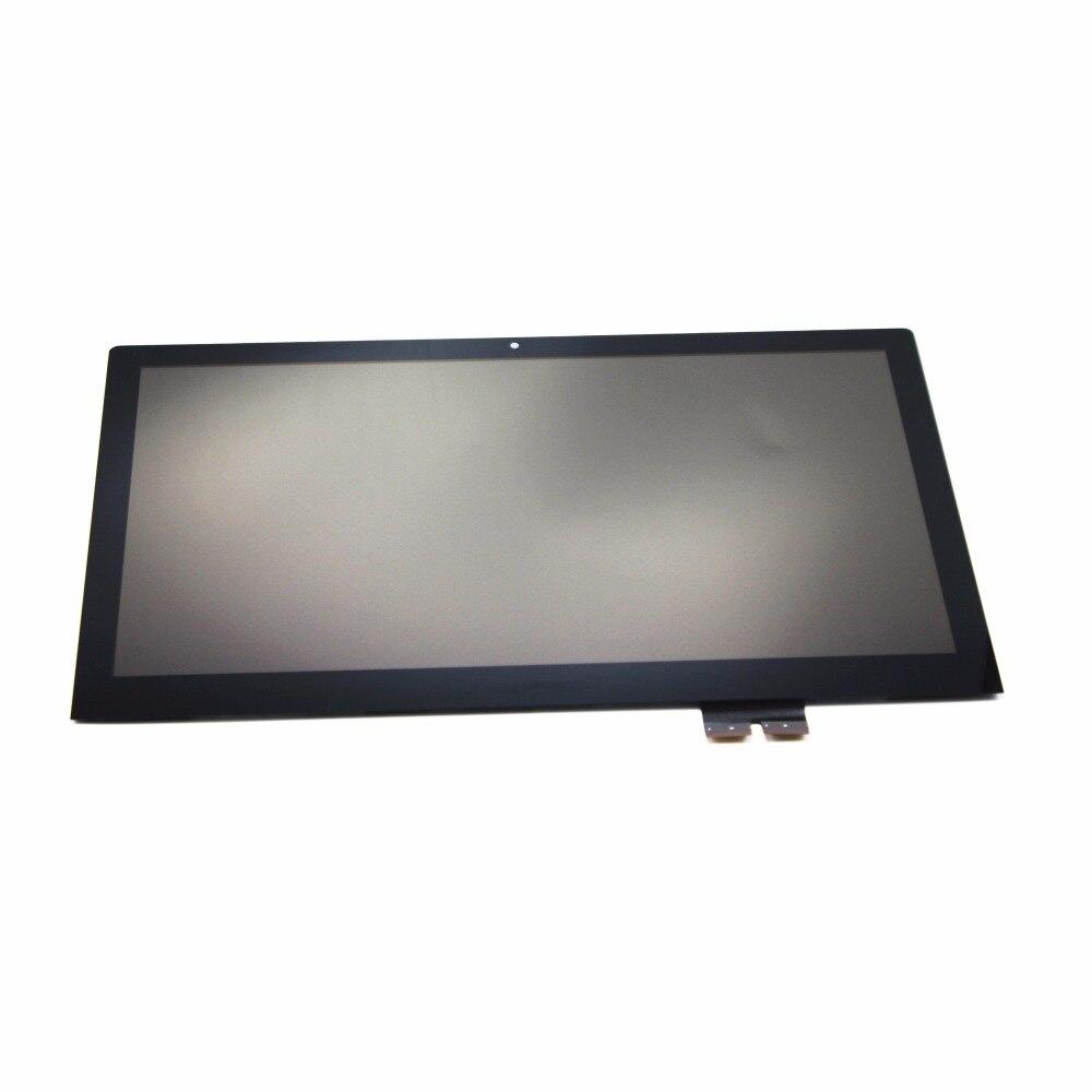15.6 ''Tactile En Verre Digitizer + LCD Assemblée de L'écran D'affichage FHD IPS panneau LP156WF4 SPL1 Pour Lenovo Flex 2 Pro 15 avec Cadre/Lunette
