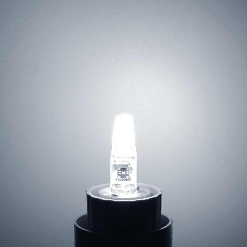 Dimmable G4 ampoule AC DC 12 V 220 V 230 V 3 W 6 W COB SMD LED lumières remplacer halogène projecteur lustre lampe d'éclairage