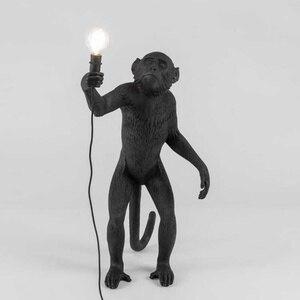 Image 4 - Nordic designer Monkey Table Lamp personality simple study bar industrial retro wind artist desk table light