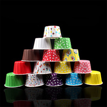 Cake paper tray 300pcs chocolate mold Laminating cake stand cups Resistant cup baking decorating tools AB581