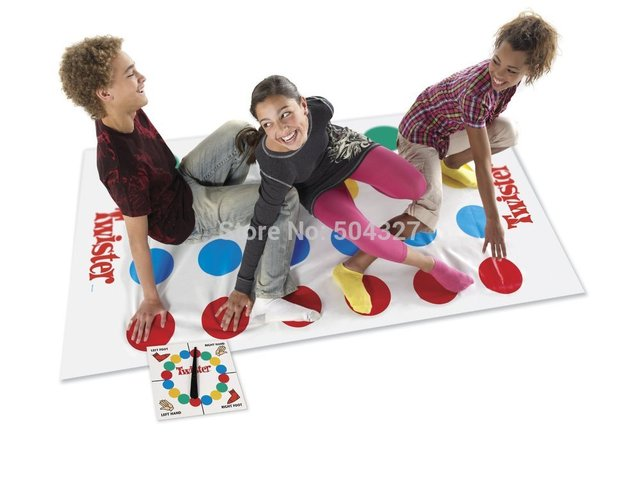 New Body Twister Game Big Size 165x118cm Play Mat Party Games Outdoor Games Finger Twister Board Game That Ties You Up In Knots