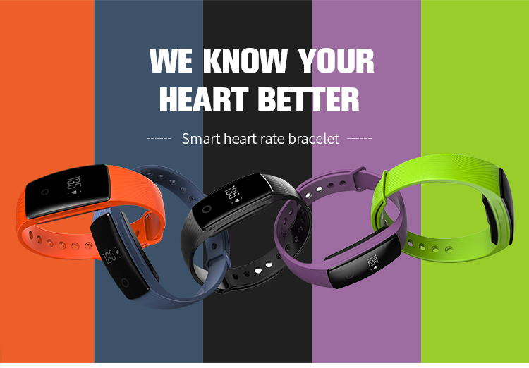 9Tong Bluetooth Wristband Bracelet Fitness Tracker Heart Rate Sleep Monitor Dynamic Pedometer Smartband for IOS Android B0 1