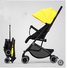 Easy to sit and lie on baby stroller ultralight portable folding baby stroller for children 0/1 to 3 years old
