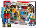 Creative Assembling Educational Articles Preschool Transform Number Robots Action Figures Transformer Plane & Car Birthday Toys