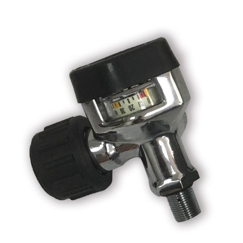4500psi Scba Air Breathing Carbon Fiber Cylinder Parts Paintball Tank Valve Threading M18*1.5 Drop Shipping Elegant Shape