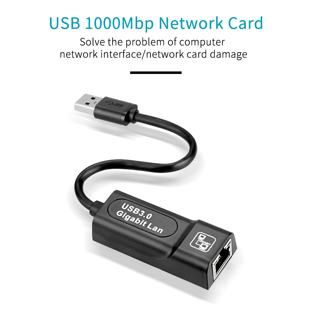 GOOJODOQ USB Ethernet Adapter and USB 1000Mbps Network Card for Windows 7/8/10 and Mac OS/Linux 8