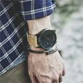 Calendário grande de Marcação Dos Homens Relógios Marca de Luxo de Quartzo dos homens Assistir À Prova D' Água Esporte Couro Relógios Militar Relogio masculino C89