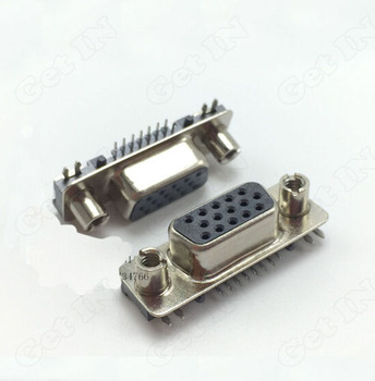 150pcs 845 Type Ultra-thin Tablet Notebook VGA Female Socket VGA Connectors 8Front 7after