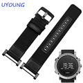 NEW arrivals Quality Jeep Nylon Watchband 24MM For Suunto CORE For Mens Smart watches accessories For Essential