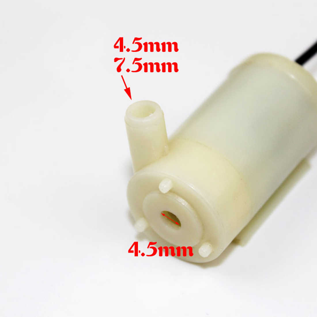 Mini Micro Dompelpomp DC 3-5 v Low Noise Borstelloze Motor Pump120L/H