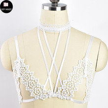 71374a4936c1b Buy flower cage bra and get free shipping on AliExpress.com