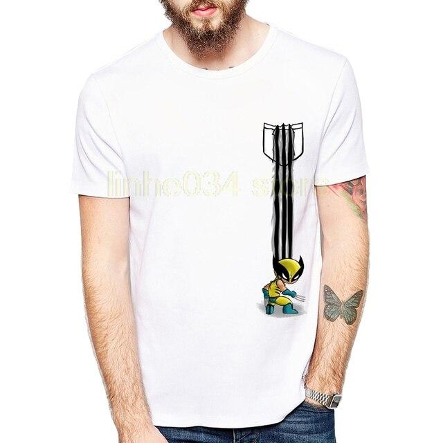 Flash Gildan 2018 Super Keren Saku Desain Pakaian Serigala Shirt
