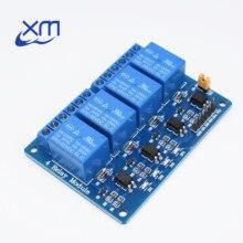 30 Stks/partij 4 Kanaals Relais Module 4 Kanaals Relais Besturingskaart Met Optocoupler. Relais Output 4 Weg Relais Module