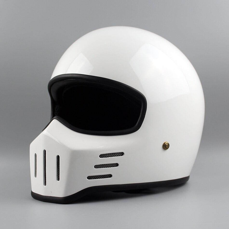TT & CO Thompson Marque Moto Casque TT01Spirit Rider Rétro Motocross Casques Compact et léger Vintage Moteur Casque