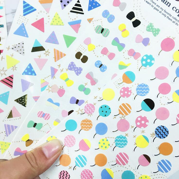 Colorful Various Designs Decorative Stickers For Phone Diary Sticker Scrapbook Decoration PVC Stationery Stickers auto accessories chameleon sticker 30m 1 52m functional car pvc red copper color stickers home decorative films stickers