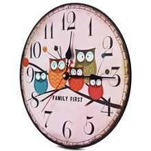 Zegar Ścienny w Stylu Rustykalnym – 4 Wzory