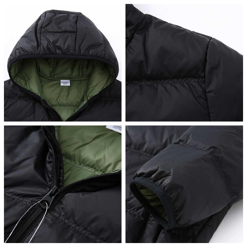 Balabala/пуховая куртка зимняя одежда для мальчиков, для малышей, Детская пуховая куртка для мальчиков, enfant, зимняя модная трендовая теплая одежда