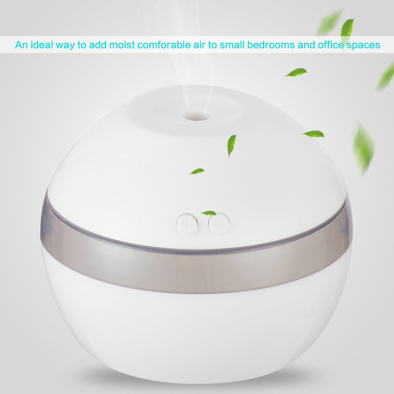 Mini Bedroom Humidifier Ultrasonic Cool Mist Desk Diffuser Portable Usb For Travel Home Office In Humidifiers From Liances On