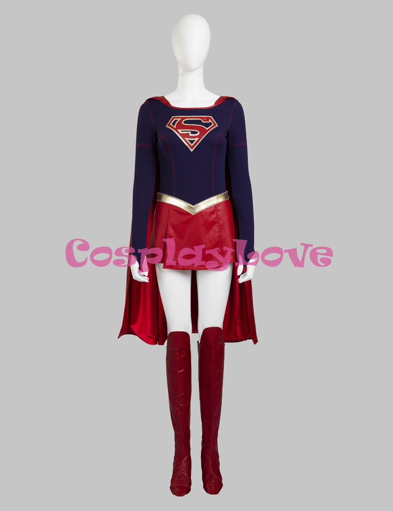 Women's Costumes Back To Search Resultsnovelty & Special Use Devoted Supergirl Kara Zor-el Cosplay Costume Superhero Cosplay Costumes For Halloween Traveling