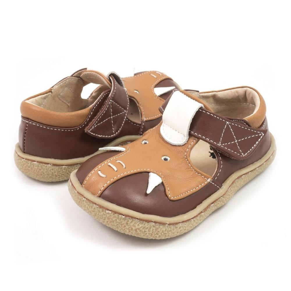 TipsieToes Top Brand Quality Genuine Leather Children Baby Toddler Girl Kids Elephant Shoes For Fashion Barefoot Sneakers