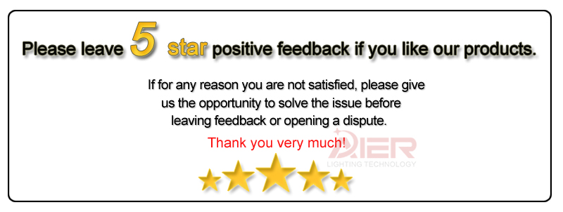 Five Star Feedback