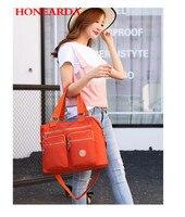 Wholesale Waterproof Women Leather Handbags Nylon Bags for Women 2018 Purses and Handbags 20PCS/lot