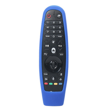 Anti-slip Smart TV Home Shockproof Protective Case Remote Control Cover Skin Hanging Eco-friendly Soft Silicone Portable For LG