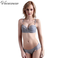 A B C D Cup Summer Style Sexy Transparent Women Bra Brief Sets Ladies Ultrathin Lace