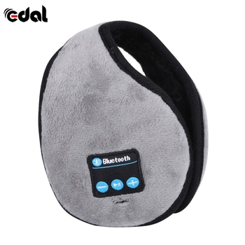 EDAL Winter Warm Neckband Earmuffs Headphone Wireless Bluetooth Earphone Liberate Hands Answer and Call the Phone S2