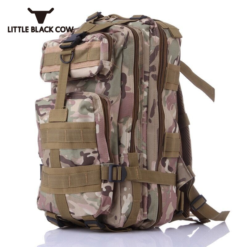 New Men Backpack Military Camouflage Mountaineer Travel Backpacks Waterproof Bag Molle Army Bags Multi Pockets Shoulder BagsNew Men Backpack Military Camouflage Mountaineer Travel Backpacks Waterproof Bag Molle Army Bags Multi Pockets Shoulder Bags
