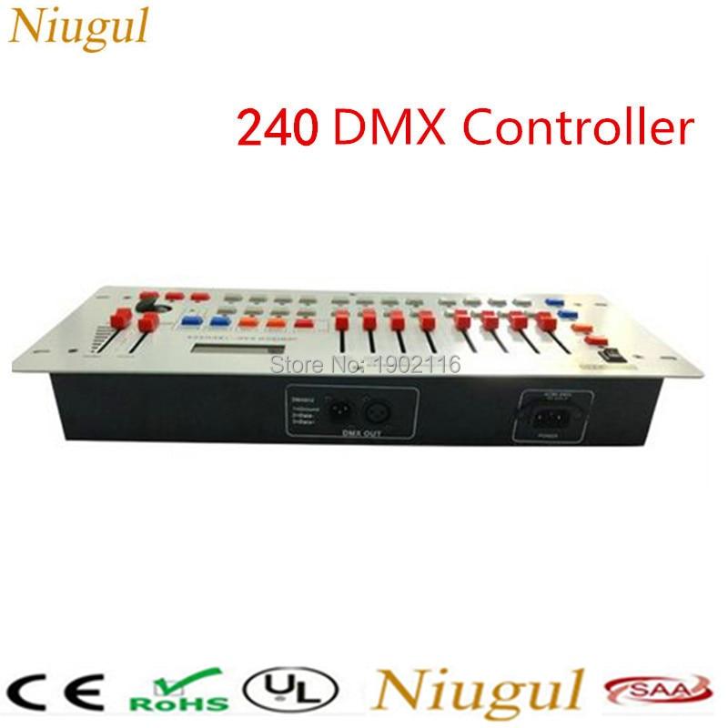все цены на Factory sale Best quality 24 Channels Disco 240 DMX Controller For Disco Nightclub Party Bar DJ DMX Light Console Free shipping онлайн