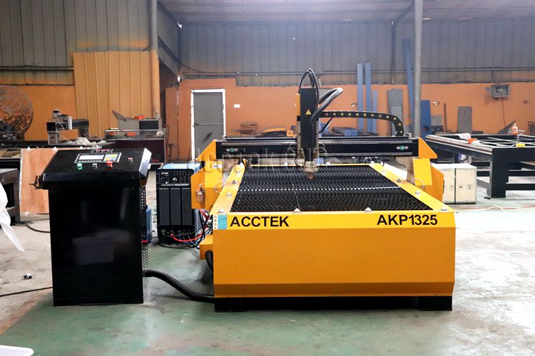 Découpeuse de plasma de CNC 1325 pour l'équipement d'acier inoxydable de coupe de plasma en métal/acctek avec 63A 100A 120A - 6