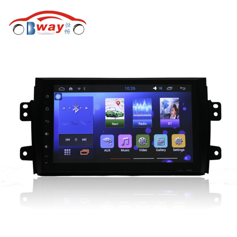 Bway 9 car radio player for Suzuki Sx4 2006 2012 font b android b font 5