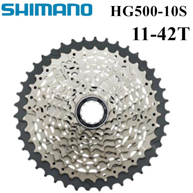 SHIMANO DEORE M6000 CS HG500-10 VTT volant VTT HG500 10 S CASSETTE PIGNON 11-42 T 10 Vitesse HG50-10 CASSETTE 11-36 T