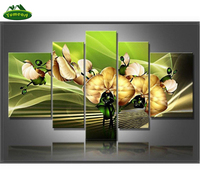 YUMEART 5D Square Drill Modern Home Decoration Diy Diamond Painting Yellow Flower Needlework Full Diamond Embroidery Paintings