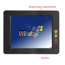 2017 hot sale 12.1 inch fanless mini Industrial Tablet PC with WIFI & 3G module support windows10